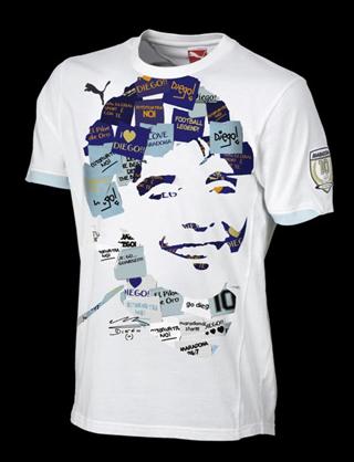 T-shirt, Puma King Diego