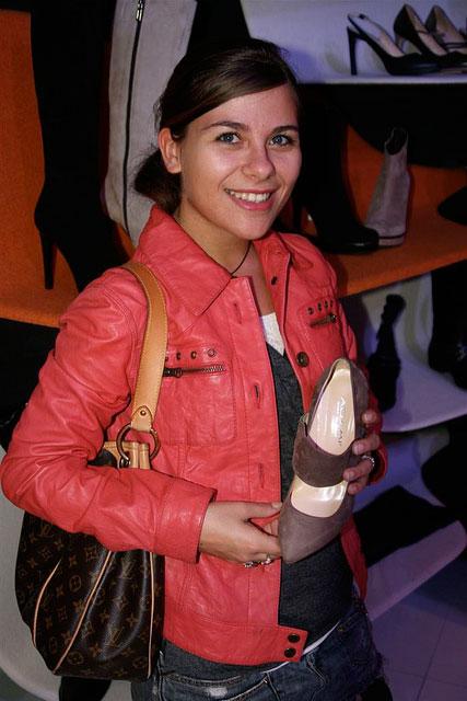 Elise Lefort, Fashion Editor di Fashion Times alla presentazione di Carlo Pazolini