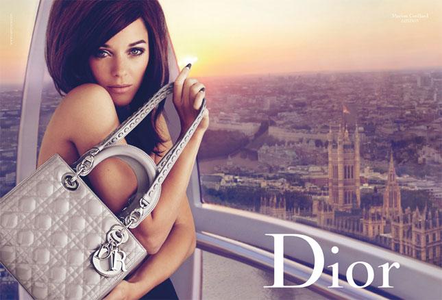 Marion Cotillard per Lady Grey London di Dior