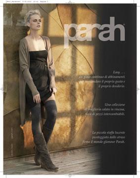 Campagna Parah Noir Fall-Winter 2010/2011