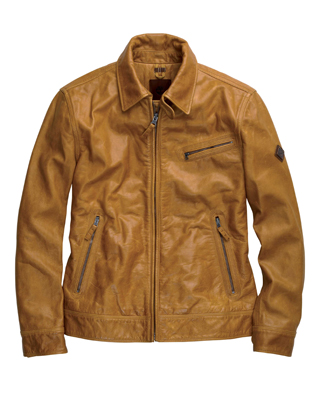 Stratham Leather Bomber by Timberland