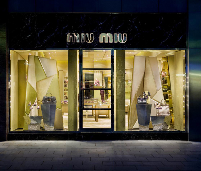 Boutique Miu Miu a Francoforte