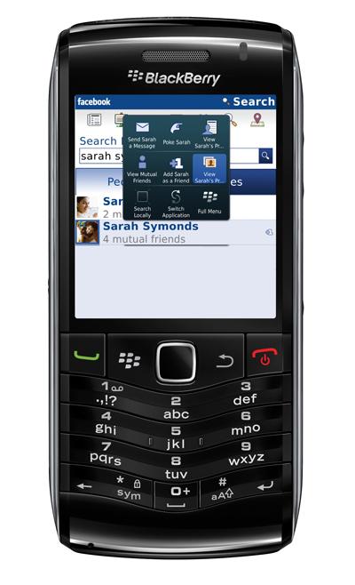 Nuovo Facebook® per gli smartphone BlackBerry®
