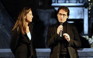 Cinzia Malvini e Antonio Falanga