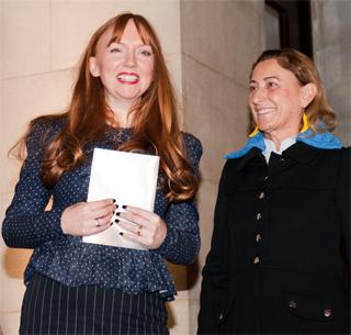 Susan Philipsz e Miuccia Prada