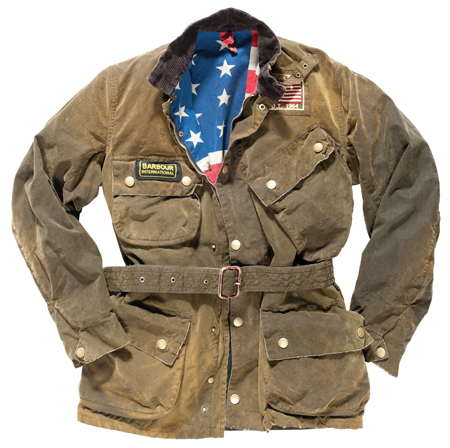 Barbour Giacca Moto