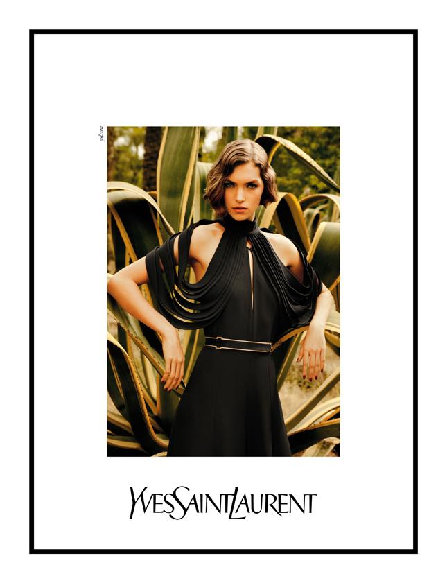 Arizona Muse per Yves Saint Laurent S-S 2011