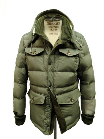 reputable site fab24 7e553 Museum presenta il piumino Field Jacket | Fashion Times
