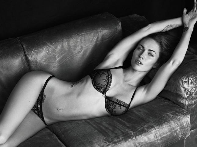 Megan Fox per Emporio Armani Underwear