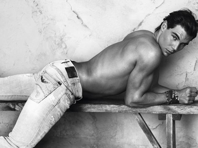 Rafael Nadal per Armani Jeans