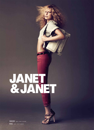 8 Faces for Janet & Janet