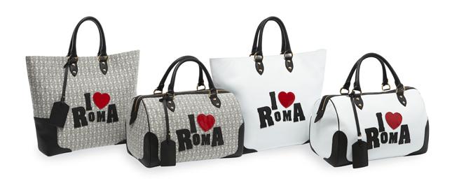 Trussardi 1911 presenta le borse I LOVE ROMA