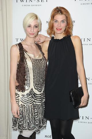 Francesca Inaudi e Claudia Zanella