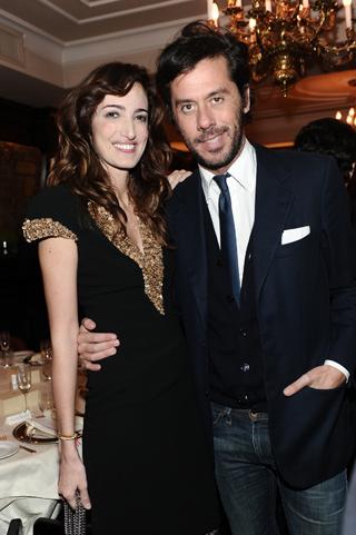 Maria Sole Brivio Sforza e Max Maggi