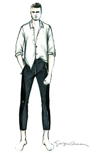 Giorgio Armani per Ricky Martin