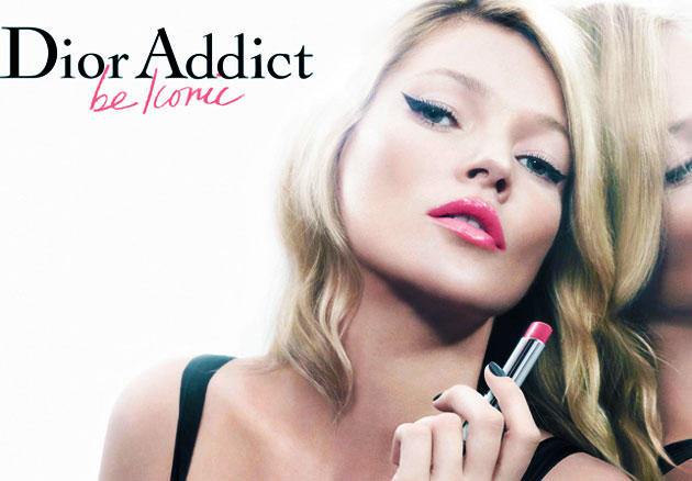 Kate Moss per Dior Addict