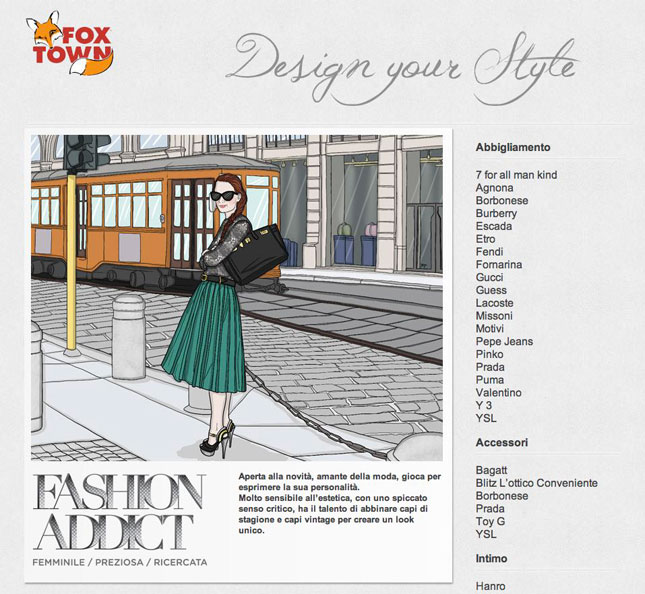 Fox Town e IED insieme per Design your Style