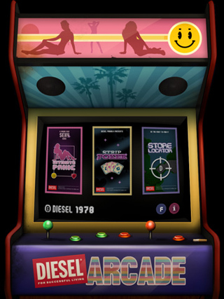 Arcade Game con Intimate by Diesel