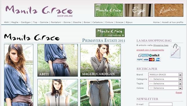 E-shop Manila Grace