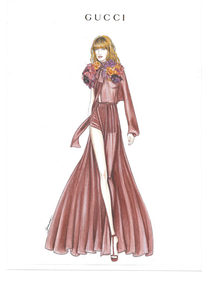 Gucci per Florence Welch