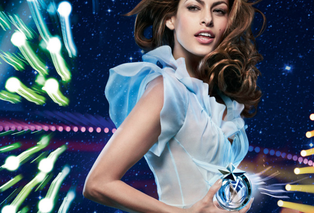Eva Mendes per Angel by Thierry Mugler