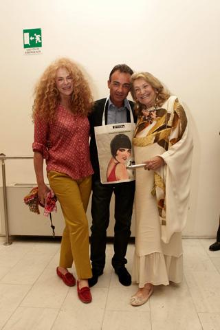 Francesca De Cherubini, Antonio Gallo e Marta Marzotto