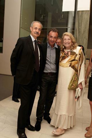 Antonio Calabrò, Antonio Gallo e Marta Marzotto