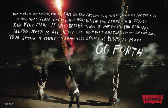 'Go Forth' by Levi's