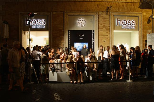 Hoss intropia apre a roma fashion times for Tognazzi arredamenti