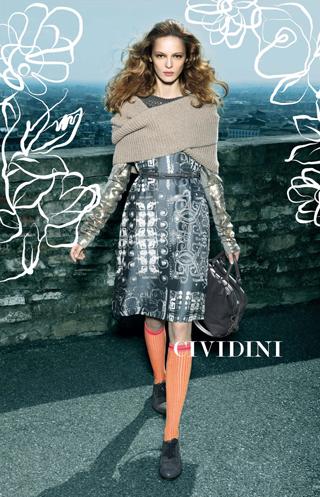 Campagna pubblicitaria Cividini Fall-Winter 2011/2012