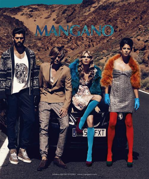 Campagna pubblicitaria Mangano A-I 2011/2012