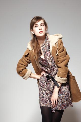 Comptoir des cotonniers fall winter casual chic con accenti folk fashion times - Peau lainee comptoir des cotonniers ...