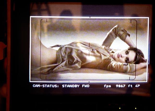 Rosie Huntington-Whiteley per Burberry Body