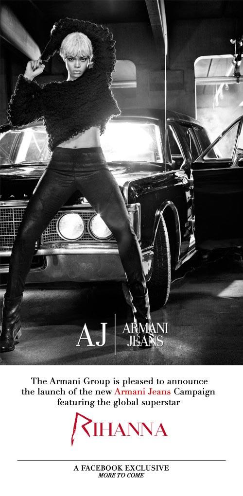 Rihanna per Armani Jeans
