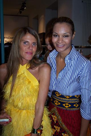 Anna Dello Russo e Stella Jean
