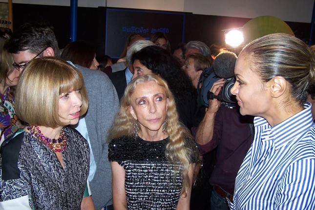 Anna Wintour, Franca Sozzani e Stella Jane
