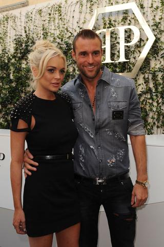 sale retailer 2e49d 8757a Lindsay Lohan a Milano per Philipp Plein | VIDEO | Fashion Times