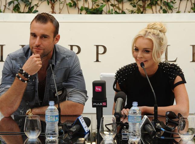 Lindsay Lohan e Philipp Plein