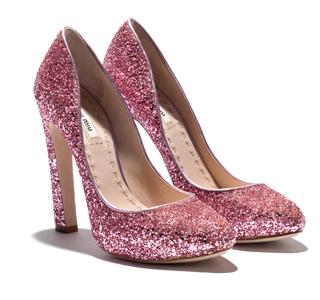 Glitter Shoes, Miu Miu