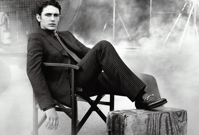 James Franco per Gucci