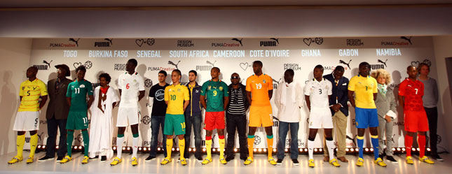 Kit per le Nazionali Africane