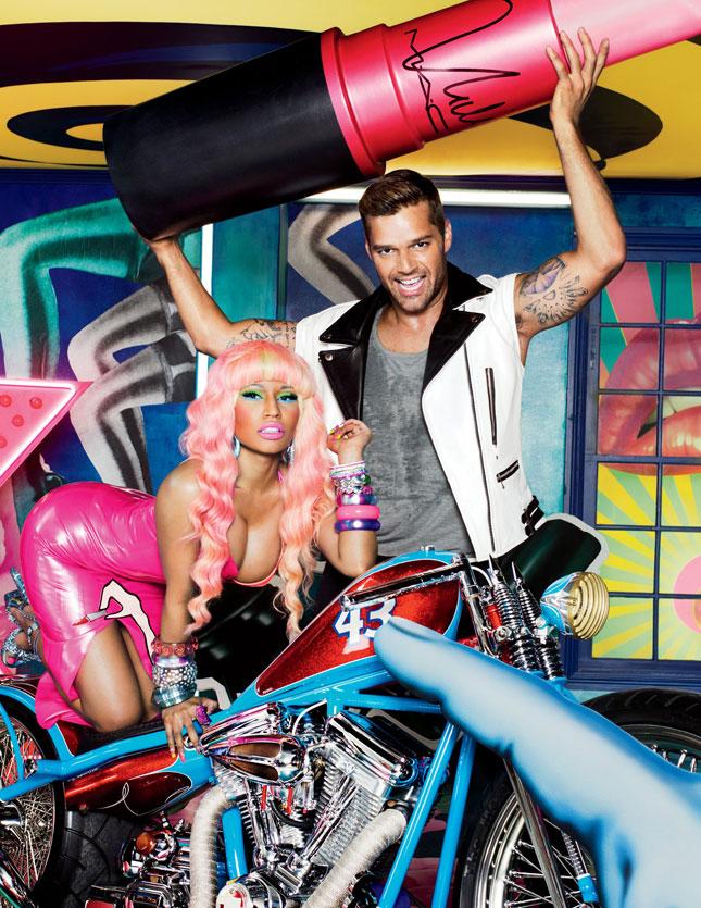 Nicki Minaj & Ricky Martin per la campagna Viva Glam di MAC