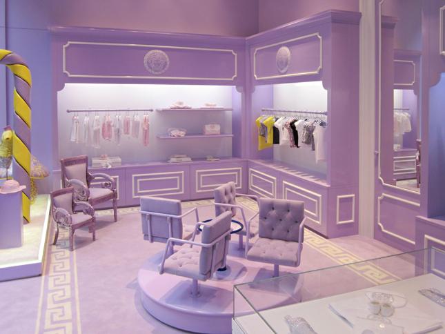 Boutique Versace Young a Milano