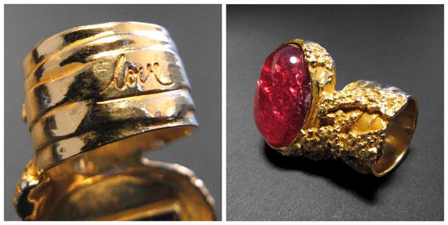 Iconic Arty Ring, Yves Saint Laurent