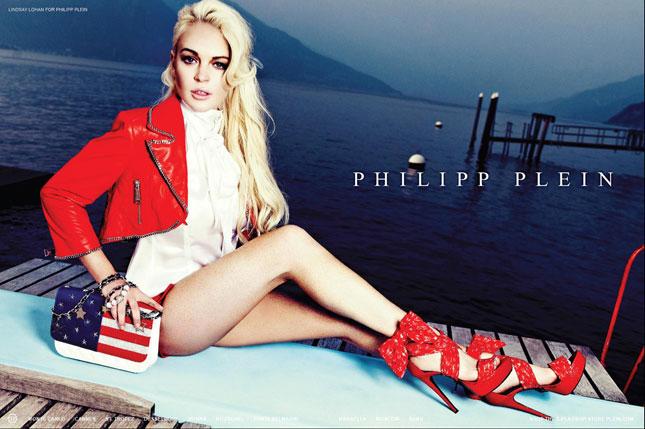 Lindsay Lohan per Philipp Plein