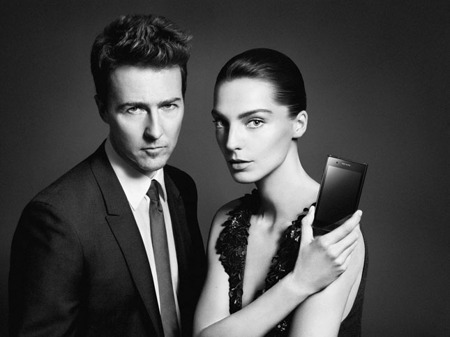 Campagna pubblicitaria Prada Phone