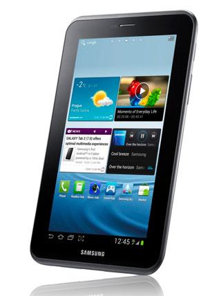 Samsung lancia il Galaxy Tab 2 da 7''
