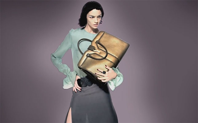 Mariacarla Boscono per Yves Saint Laurent