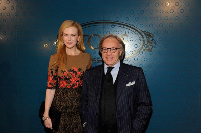 Nicole Kidman e Diego Della Valle