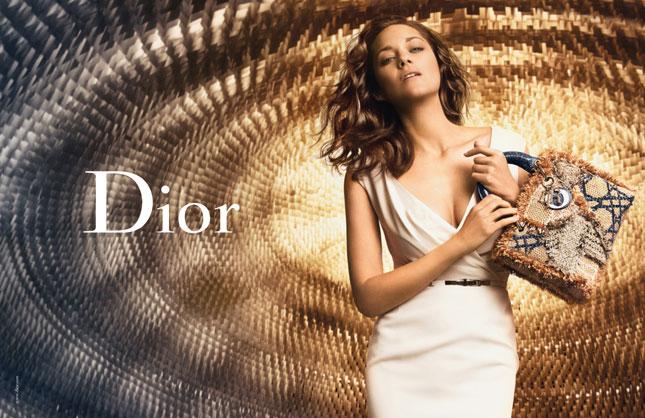 Marion Cotillard per la nuova campagna Lady Dior